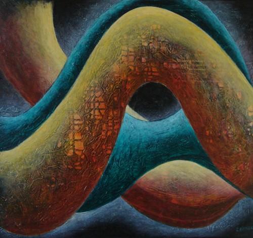 BAJKA  I Acríico sobre tela 60 x 70 cm  2007